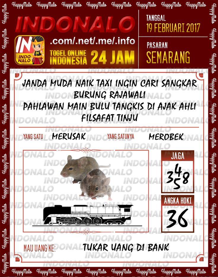 Taysen Hoki 3D Togel Wap Online Live Draw 4D Indonalo Semarang 19 Februari 2017
