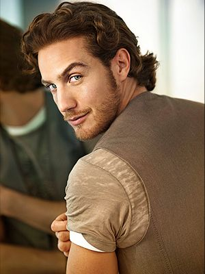 "Eugenio Siller. He is apparently famous for a telenovela called ""Reinas de Corazones"", which I have never seen.....no matter. He is beautiful!"