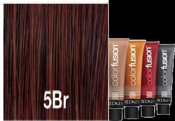 Redken Color Fusion 5br Brown Red Hair Pinterest
