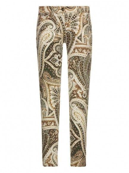 Jeans Stampati ETRO | ETRO Pantaloni Donna PE 14  340