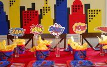 Superhero Parties on a Budget