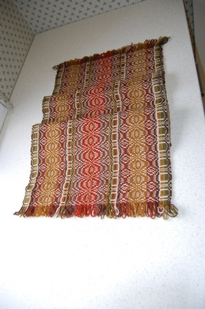 Woven table cloth from Telemark