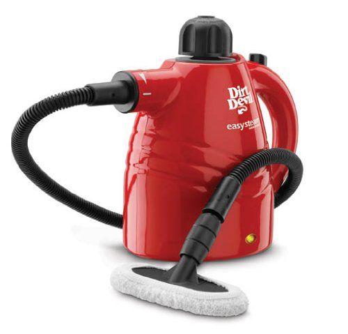 Dirt Devil Easy Steam Handheld Steamer, PD20005 Dirt Devil http://www.amazon.com/dp/B003OAB5AM/ref=cm_sw_r_pi_dp_KFkJtb0KHRFW3YMJ