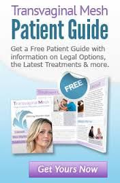 Transvaginal mesh patient guide.