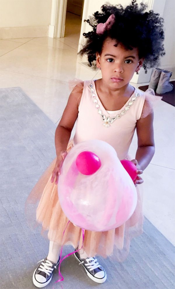 Blue Ivy — PICS  Blue Ivy Carter - Beyonce Shares Sweet Photos From Blue Ivy's Fairytale 4th Birthday Party. (Courtesy of Beyonce.com)