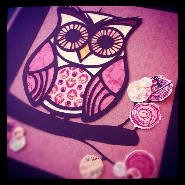 Paper cut owl ~*