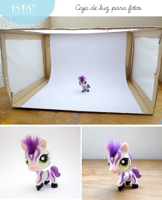 DIY caja de luz para fotos / DIY photo light box