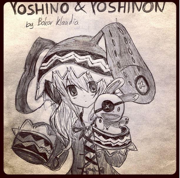 Yoshino and Yoshinon - Date A Live by Bokor Klaudia