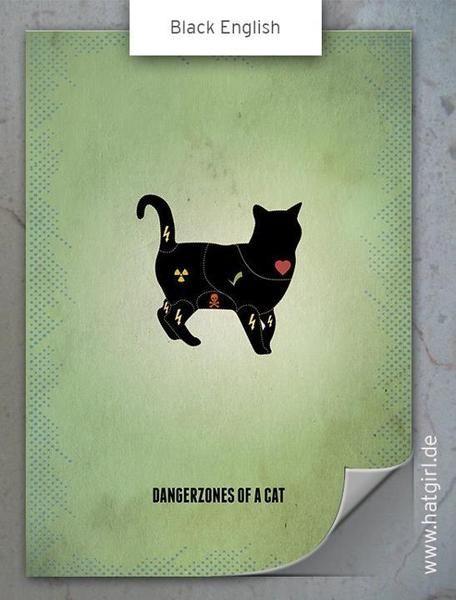Du kannst dieses schicke Vintage-Plakat direkt zu dir nach Hause bestellen. Ein schickes Wohnaccessoires für Katzenliebhaber. Das Poster gibt es wahlweise in 3 Versionen, davon 2 English und eins...