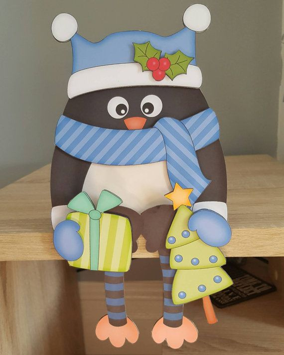 Check out this item in my Etsy shop https://www.etsy.com/uk/listing/486276191/christmas-penguin-in-blue-christmas-card
