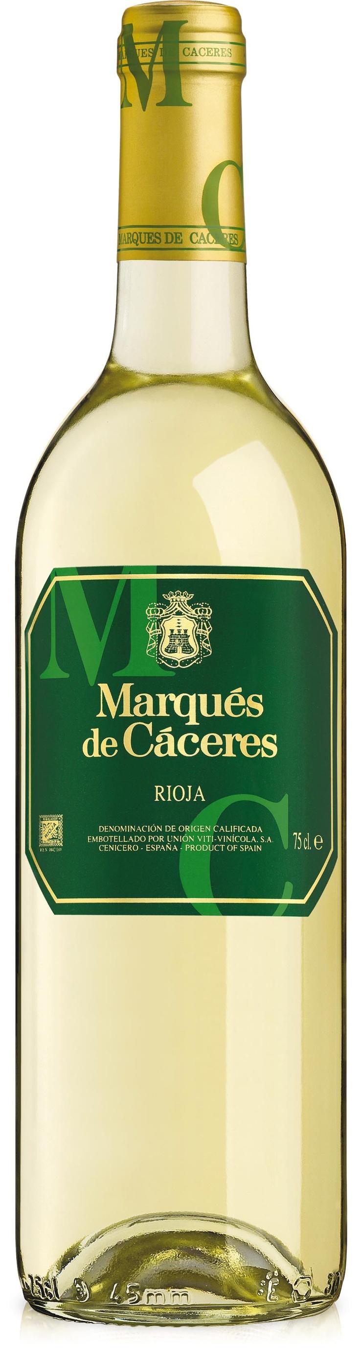 Marqués de Cáceres Blanco 2011.
