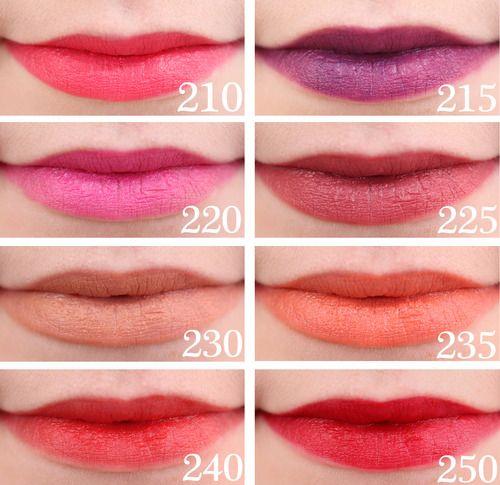 Revlon Colorburst Matte Balm Swatches   Lipstick