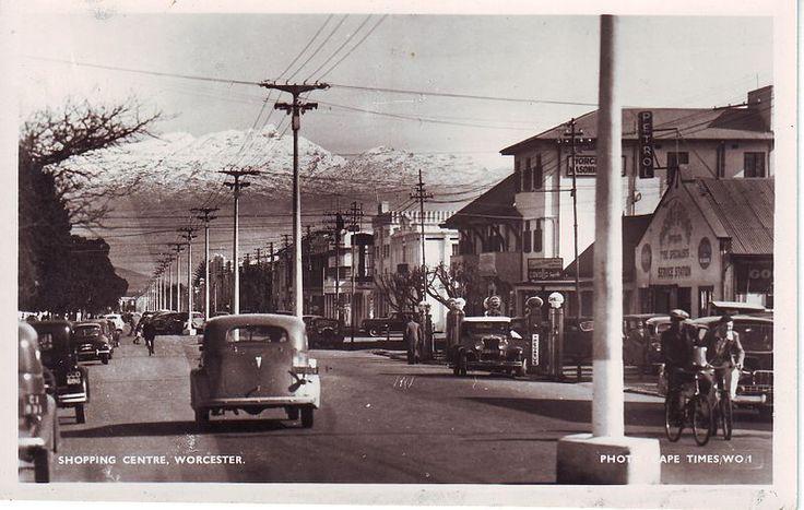 Historical High Street Worcester