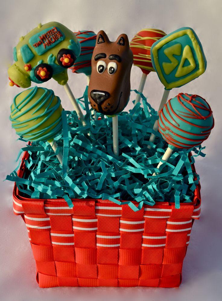 scooby doo cake balls | Character Gallery | Keeya's Cake Pops