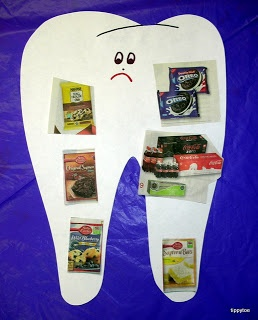 Healthy Teeth Activity perfect for showing kids what to eat for a healthy smile! #DeltaDental