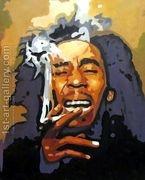 Bob Marley  by Pop Art