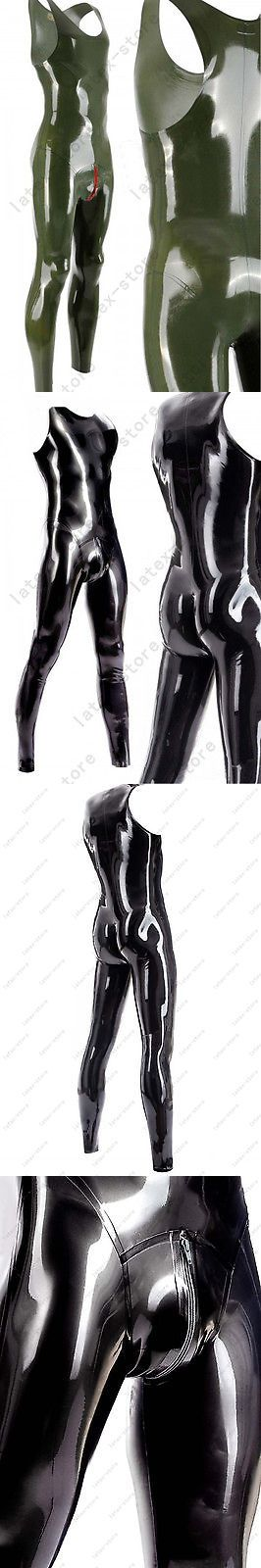 Other Mens Clothing 313: 027 Latex Gummi Rubber Male Catsuit Bodysuit Unitard Cod Piece Customized 0.4Mm -> BUY IT NOW ONLY: $115 on eBay!