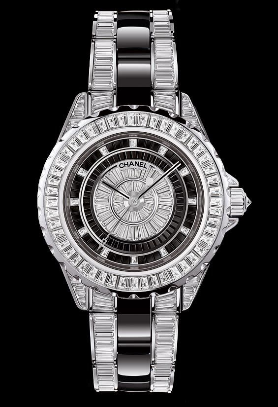 are you kidding me? This is what freams are made of. La Cote des Montres : La montre Chanel J12 Haute Joaillerie