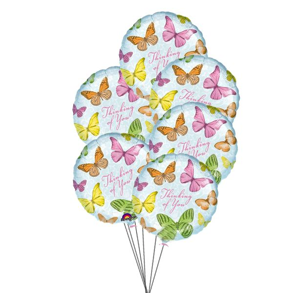 This Balloons are for those special ones who are always in your mind,send your wishes to them by Balloons. 3 Mylar & 3 Latex Balloons deliver in this arrangement.  Send Balloons for Mother's Day