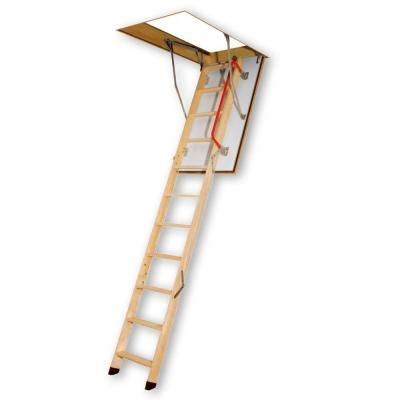 fired rated wood attic ladder with 300 lb load capacity type ia duty the home depot