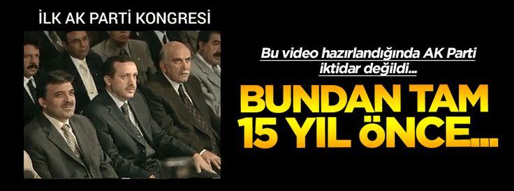 Bu video hazırlandığında daha AK Parti iktidar değildi!
