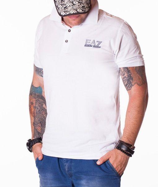 Armani Tricouri Polo - EA7 Classic tricou polo alb