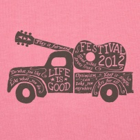 Women's Festival Tee 2012