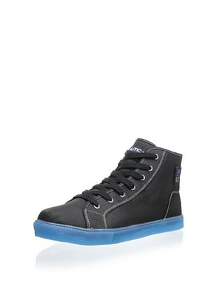 35% OFF Nautica Men's Northport High-Top Sneaker (Black)