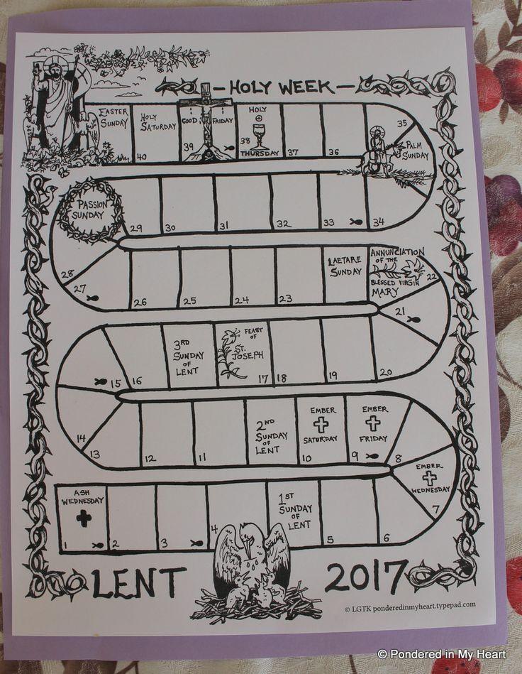 Lenten Calendar Ideas : The best lent calendar ideas on pinterest