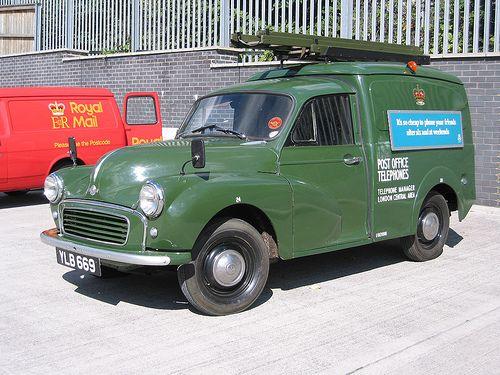 Morris Minor Van .. Number please