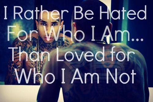 Quotes About Cutting Yourself | Feelings Quotes Sayings Tyga Rapper About Yourself Pictures