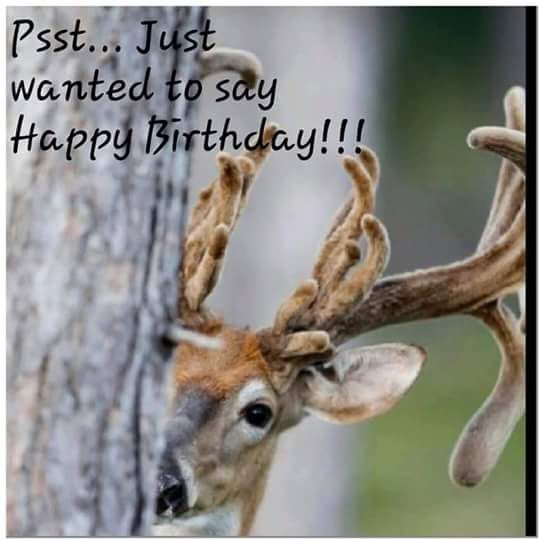 Image Result For Happy Birthday Hunting