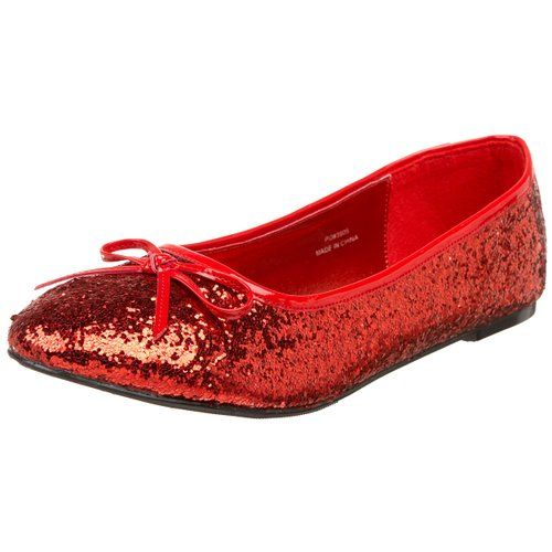 Penélope mujer mujer mujer ballet rojo y cuero Penelope 1930cherry 1b9163
