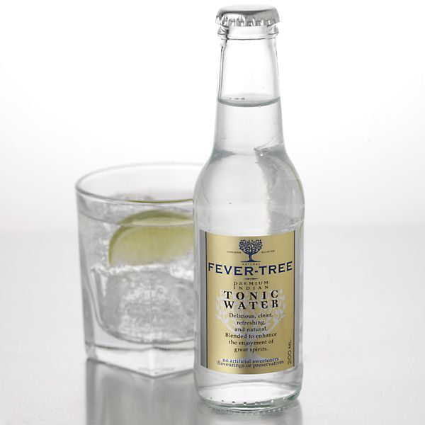 The second key to the best gin & tonic ever, Fever Tree's tonic is unbeatable. Made with real cane sugar, hand-pressed orange oils and quinine from the Rwanda/Congo border. Available by the case at Amazon, or by the bottle at Whole Foods & KegWorks.com. $2.50
