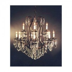 Cheap+Chandeliers+for+Sale | Wrought Iron Crystals Chandeliers For Sale