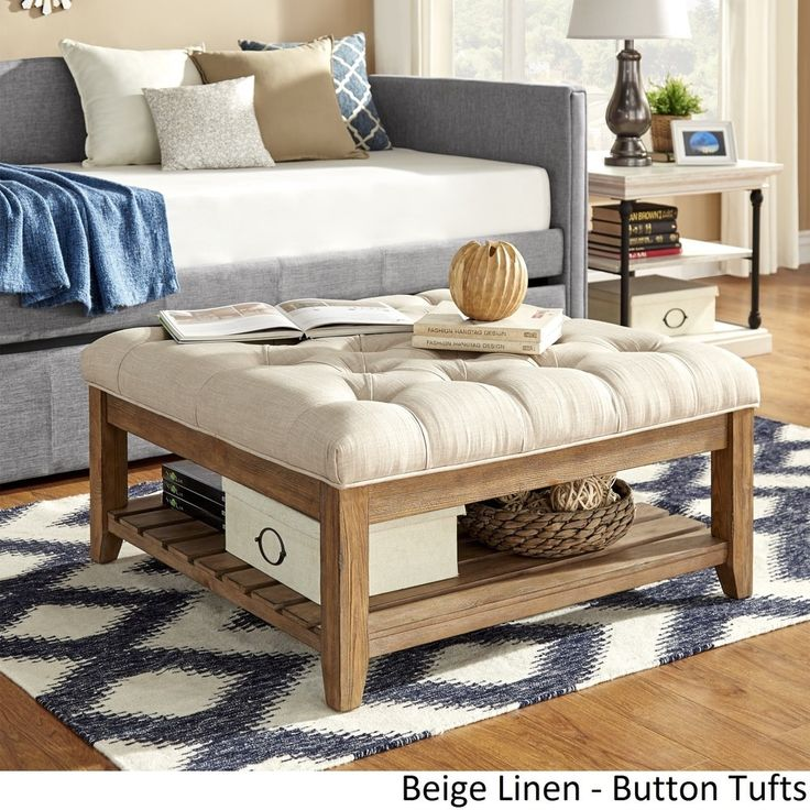 Ottoman Or Coffee Table Sectional