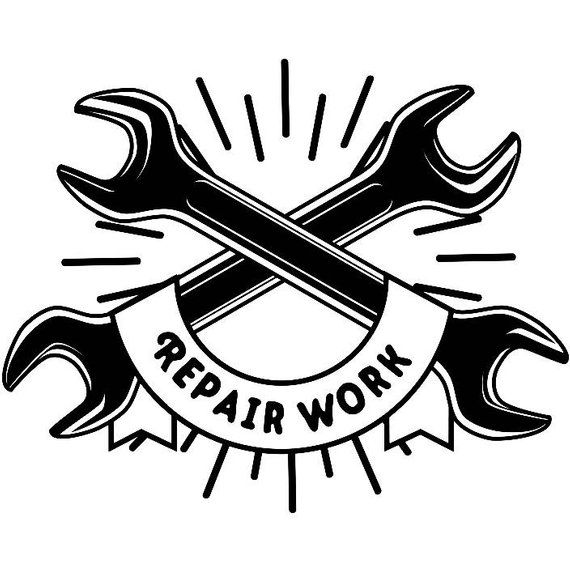 Construction Logo 13 Wrench Tool Toolbox Plumber Handyman