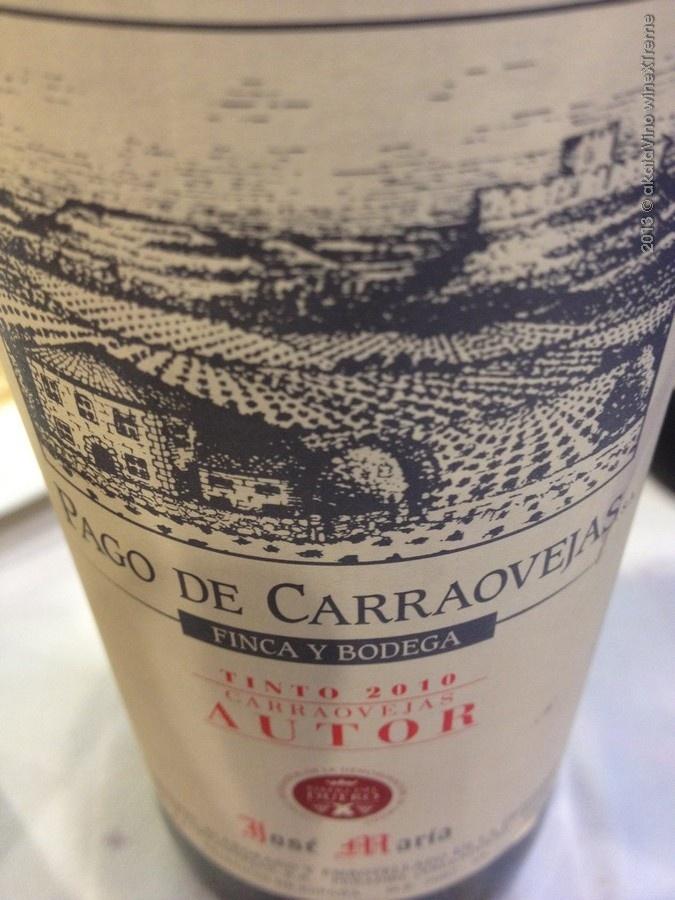 Nuestro vino Pago de Carraovejas Autor