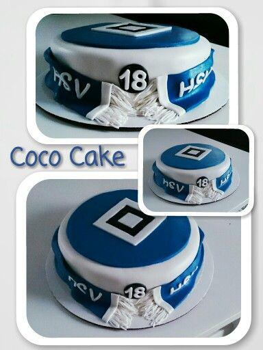 HSV cake  #hsv #fusball #hamburg