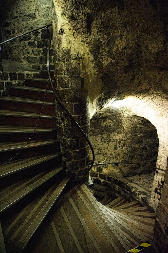 Tower of London... how many stared death in the face on these stairs...horrid place!!