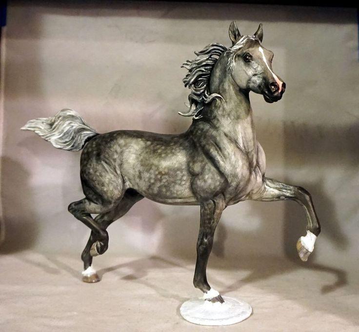 Custom /CM Breyer Horse Model - Arabian Stallion x B. Morgan   | eBay