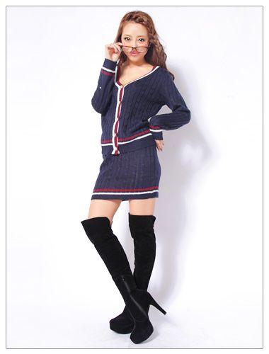 プレッピースタイルで湯当世風♡お姉ギャル系タイプのコーデ♡参考にしたいスタイル・ファッション
