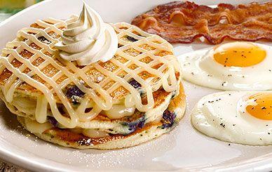 Perkins - Lemon Blueberry Pie Pancake Platter