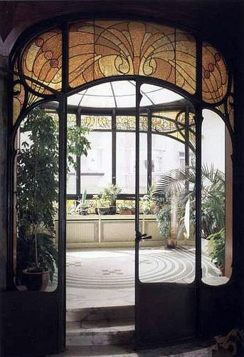 Bruxelles brunfaut hotel hannon by via flickr for Interieur art nouveau