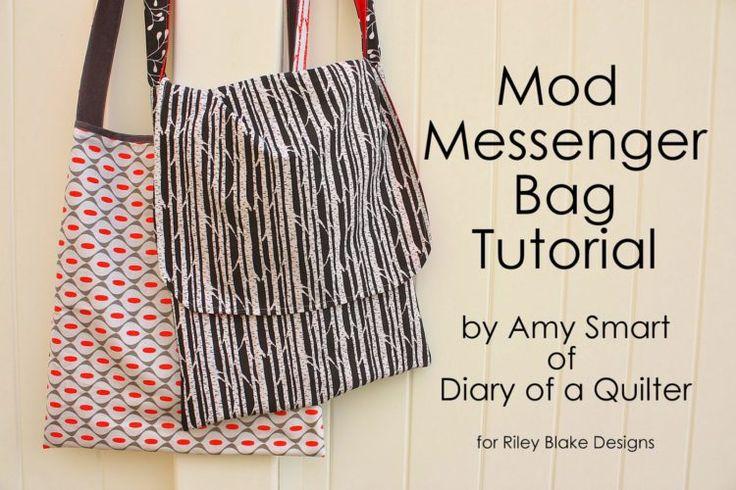 Easy Mod Messenger Bag tutorial