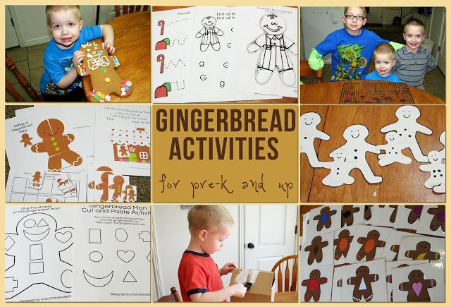about gingerbread on Pinterest | Themes for preschool, Gingerbread ...