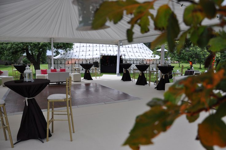 An Outdoor Marquee Private Party. Visit www.gotchacovered.ie