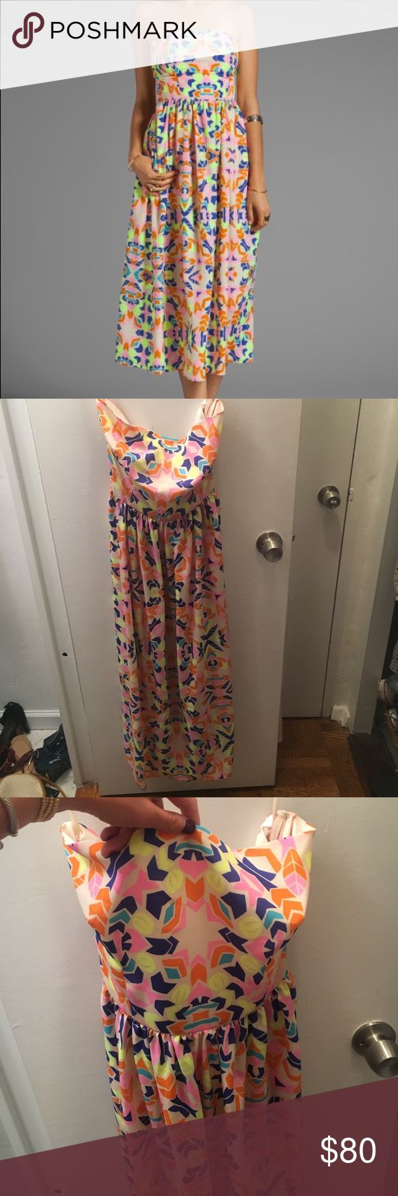 Mara Hoffman Strapless Sundress 100% polyester. New without tags,Mara Hoffman strapless sundress in Aloha Stone Mara Hoffman Dresses Midi