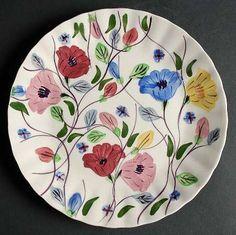 Chintz colonial, pastel flowers