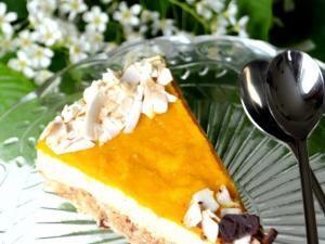 Cheesecake cru à la mangue et à la noix de coco • Hellocoton.fr